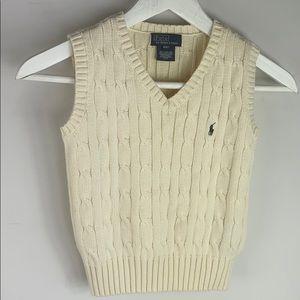 Ralph Lauren Set of sweater vest & Shorts 4/4T